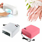 9/36W UV Gel Acrylic Curing Varnish Dryer Nail Art Machine Lamp ❤Special Offer❤