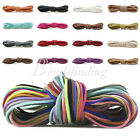 40 Colors 3mm Faux Suede Cord Linen Wire Jewelry Making Beading Thread 1m