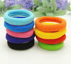 Wholesale Women Elastic Rope Ring Hairband Ponytail Hair Circle Rubber Band Gift