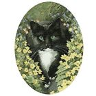 Heritage Crafts John Stubbs Black and White Cat Cross Stitch Kit