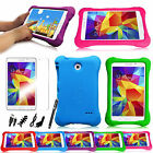 "For Samsung Galaxy Tab 4 7.0"" Shock Proof Kids Friendly Case Cover 7in1 Bundle"