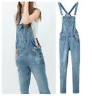 Fashion New Women Washed Denim Overalls Jumpsuit Pants Jeans