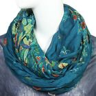 Scarfand's Wrinkled Floral Infinity Scarf