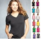 *ANVIL Woman's Sheer Featherweight V-Neck Tee T-Shirt XS-2XL 392 392A-13 COLORS!