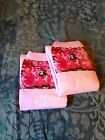 2 Diapers - DC Amor - Medium / Large - all pink theme! plastic-backed adult baby