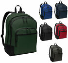 CLASSIC BACKPACK, 4 ZIP COMPARTMENTS, PADDED BACK & STRAPS, LAPTOP SLEEVE, BASIC