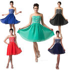 Cheap~Short Chiffon Bridesmaid Prom Dress Cocktail Homecoming Party Evening Gown