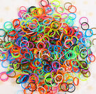 <div>NEW 600 Pcs DIY Rubber Bands Craft &amp; 24 S-clips 15 Color Choose for Rainbow Loom</div>