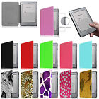 "20 Colors Leather Magnetic Case Cover for Kindle 5 & Kindle 4 6"" E Ink Display"
