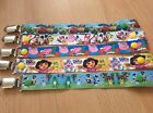 Handmade dummy/pacifier/soother clips/straps chuggington Peppa pig Disney & more