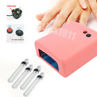 Professional 36W 220V UV Nail Art Gel Curing Polish Light Dryer + 4 Tube Lamp UK