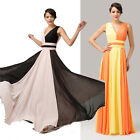 2014 Newly Long CHIFFON Bridesmaid Evening Party Ball Gown Prom Formal Dress 6++