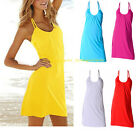 Hot Fashion Causal Women's Sleeveless Cocktail Evening Party Cover Up Mini Dress