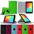 For LG G Pad 7.0 7-Inch Android Tablet Rotating Leather Smart Wake Case Cover