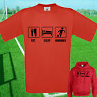 EAT, SLEEP, BOURNEMOUTH FOOTBALL T SHIRT / HOODIE - KIDS ADULTS AFC TOP