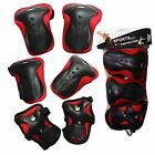 Elbow Knee Wrist Protective Guard Safety Gear pads skate bicycle Teens Adults