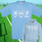EAT, SLEEP, COVENTRY FOOTBALL T SHIRT / HOODIE - KIDS ADULTS  TOP