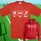 EAT, SLEEP, LEYTON ORIENT FOOTBALL T SHIRT / HOODIE - KIDS ADULTS  TOP