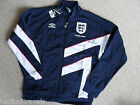 M or L ENGLAND UMBRO 1996 Euro 96 TRACK JACKET soccer football calcio NEW