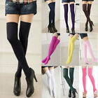 LONG COTTON SOCKS THIGH HIGH OVER THE KNEE THINNER STOCKINGS 4 COLOURS FOR WOMEN