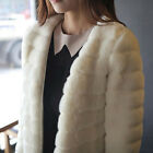 2013 New Fashion Lady Winter Warm Trendy Hairy Faux Fur Jacket Coat for 3 Sizes