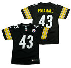 Nike NFL Football Youth Pittsburgh Steelers Troy Polamalu # 43 Limited Jersey