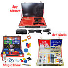 Spy Master, The Greatest Magic Show, Complete Art works Briefcase Collection Set