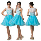 Sexy Bridesmaid Short Dress Evening Cocktail Party Prom Ball Gown Dress AU 6-20