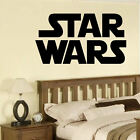 LARGE STAR WARS STARWARS LOGO CHILDREN BEDROOM WALL MURAL STICKER ART TRANSFER