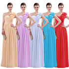 GK Stock! Formal Evening Ball Gown Bridesmaid Cocktail Party Banquet Prom Dress