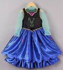 Frozen ANNA  inspired Dress Princess costume  IN STOCK New  FREE SHIP