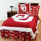 Oklahoma Sooners Comforter Sham and Valance Set Twin to  King
