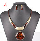Fashion 2014 spring new jewelry sets pendant necklace+stud earring sets women