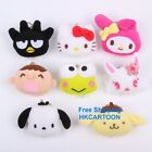 SANRIO HELLO KITTY MINA NO TABO MY MELODY POM POM PURIN PLUSH DOLL KEY CHAIN