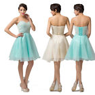 Fashion Womens Sexy Cocktail Bridesmaid Evening Party Mini Short ballet Dress DQ