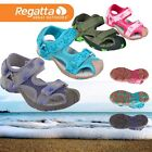 REGATTA KIDS SANDALS CLEARANCE - Boys Girls Velcro Summer Beach Flip Flops