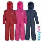 Trespass Button All In One Waterproof Puddle Rain Suit Toddlers Boys / Girls