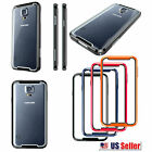 for Samsung Galaxy S5 G900 - PREMIUM Hybrid Armor Two Layer Bumper Case