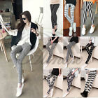 Womens Stylish Geomestric Floral Printed Stretch Bodycon Leggings Tights Pants