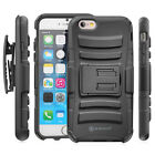 Rugged Clipster Kickstand Case + Belt Clip for Apple iPhone 6 4.7 inch