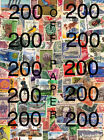 Worldwide Assortment of 200 Postage Stamps **** Cancelled Collection Foreign Lot