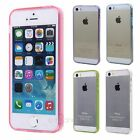 Simple Style Multicolor Clear Crystal Case Cover Protector For iPhone 5 5S 5G