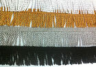 BULLION FRINGE 6.5CM, UPHOLSTREY TRIMMING AVALIBLE SILVER, GOLD, WHITE,BLACK