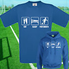 EAT, SLEEP, PORTSMOUTH FOOTBALL T SHIRT / HOODIE - KIDS ADULTS  TOP