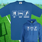 EAT, SLEEP, WEDNESDAY FOOTBALL T SHIRT / HOODIE - KIDS ADULTS  TOP SHEFFIELD