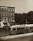 1942 Vintage Photo Futuristic Streetcar Trolley Washington DC  Largest Sizes