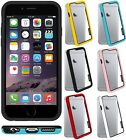 Amzer Slim Bumper Frame Border Case Protective Back Cover For iPhone 6 Plus 5.5""