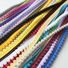Pearl Pom Pom Trim - All 26 Colours (Per Metre) Excellent Quality Fringe Trimmin