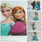 FROZEN ELSA OLAF IRON ON SMOOTH HEAT TRANSFER PATCH FOR CLOTHES BAGS UK SELLER