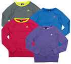 Adidas Youth Girl's Long Sleeve Pullover Crew